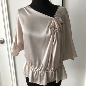 Studio M by max studio blouse sheer size small